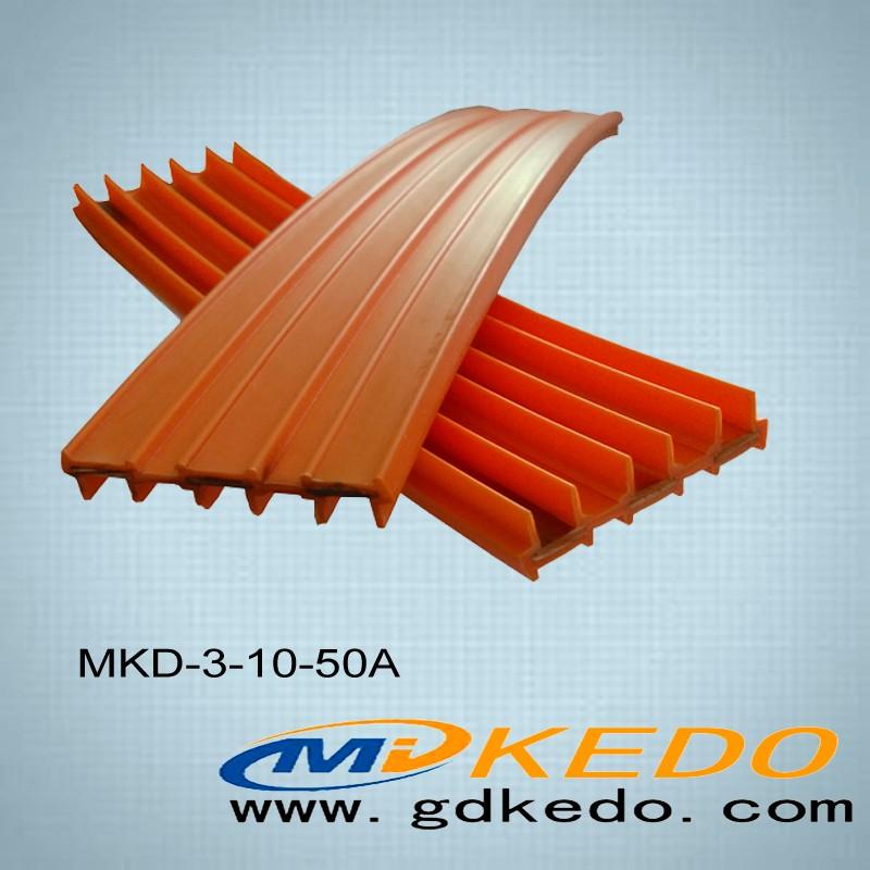 科多滑觸線3P10平方50A安全電軌 安全滑觸線