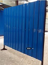 天津彩鋼板生產廠家/建築施工圍擋/彩鋼圍擋板製作加工/彩鋼板房銷售;