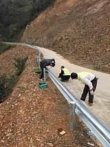 广西地区供应波形护栏提供安装团队