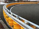 广西省供应旋转护栏翻滚筒安全栏可提供全包安装团队