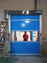 广州快速卷帘门厂家 洁净室 风淋室 食品电子厂自动卷帘门