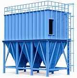 定制工业除尘设备脉冲布袋仓顶除尘器