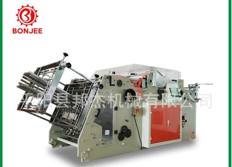 廠家直銷 雙工位漢堡盒機 打包盒機 紙盒成型機 餐盒機 穩定生產