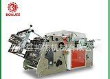 厂家直销 双工位汉堡盒机 打包盒机 纸盒成型机 餐盒机 稳定生产;
