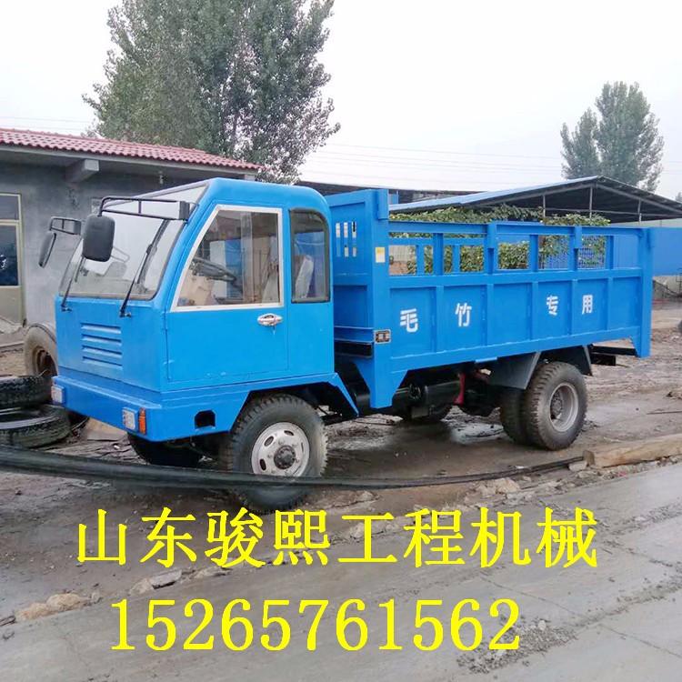 4102拉毛竹爬山用的四驱四不像车 四不像翻斗运输车