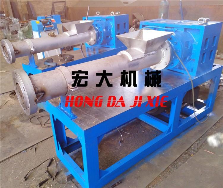 【山东宏大】125单机 丙纶丝 拉丝厂专用造粒机130造粒机塑料造粒机
