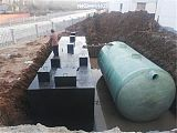 美麗鄉村專用一體化污水處理設備達標排放;