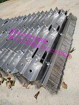 焦化厂焦炉炉门烟气弹性密封钢刷 焦炉弹性钢刷刮刀 焦炉钢刷密封;