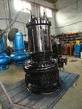 山东鲁达泥浆泵就是耐用-潜水搅拌无堵塞泥浆泵