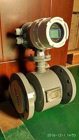 锂电池供电磁流量计 导电液体热量水表厂家直销;