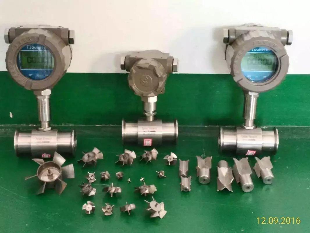 LWGY型渦輪流量傳感器 數顯流量計 電子儀表