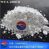 抛磨块原材料 白色粉末金刚砂磨料325# 320#-0细粉白刚玉;