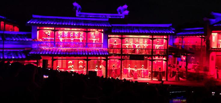 武夷山印象大紅袍演出門票 好位置