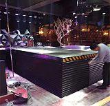 電動液壓升降旋轉舞台遙控升降機地顫舞台剪叉式升降機汽車展台走向T台;