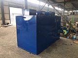 地埋一体化污水处理设备小型餐饮食品厂屠宰医院生活污水处理设备;