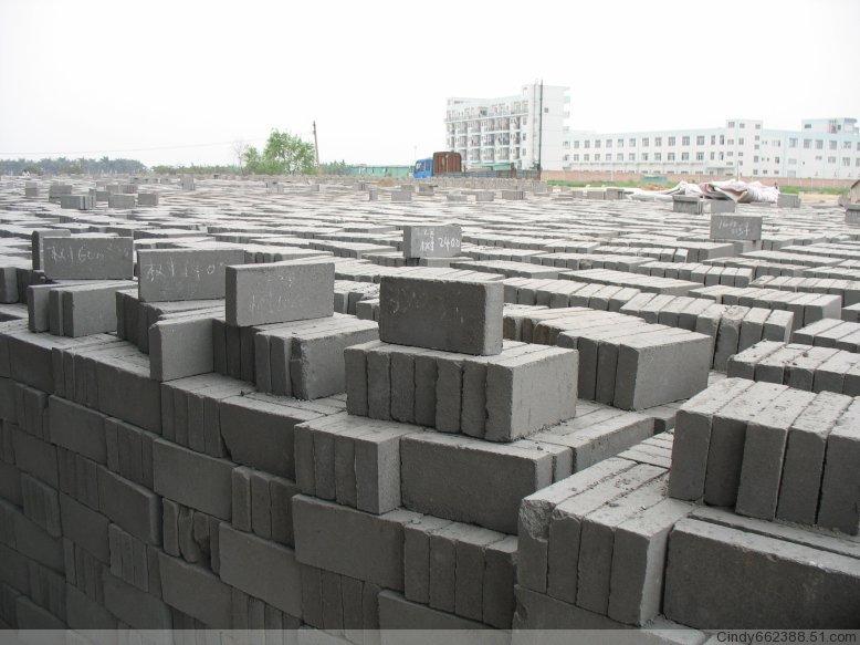 混凝土實心磚-水泥磚-免燒磚-東莞建德材料廠家直銷
