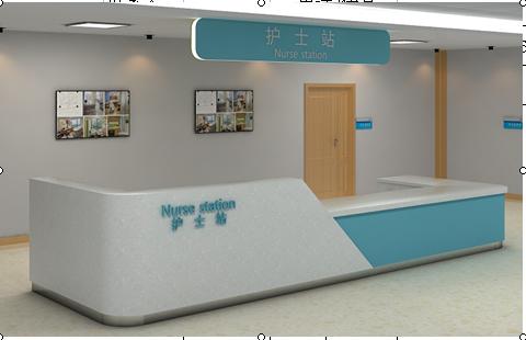 深圳醫院家具,醫療家具,護士站定製
