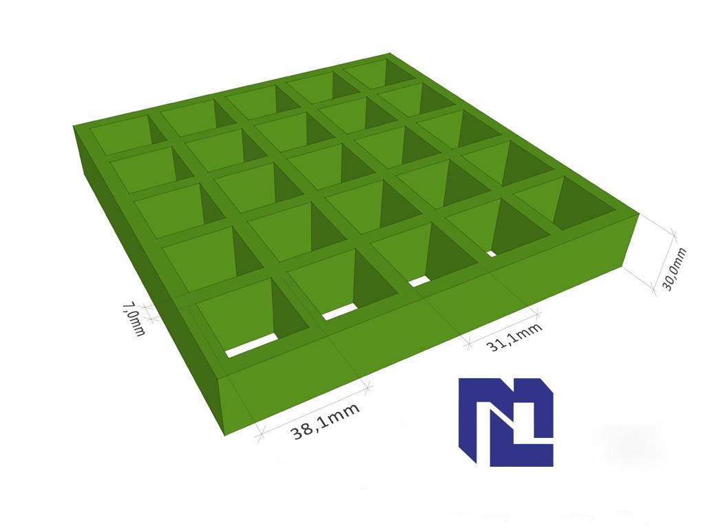 綠盟科技 玻璃鋼格柵 383830
