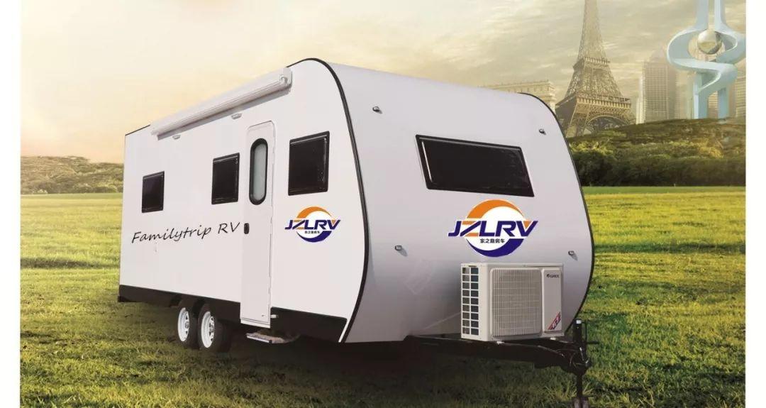 生產廠家家之旅8米雙軸拖掛車野營拖掛式房車旅居車戶外露營自駕