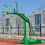 阜阳销售移动式篮球架 单位学校篮球架 地埋式休闲篮球架 篮球场地施工