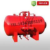消防泡沫罐 泡沫液儲罐 壓力式比例混合裝置臥式 山東強盾消防