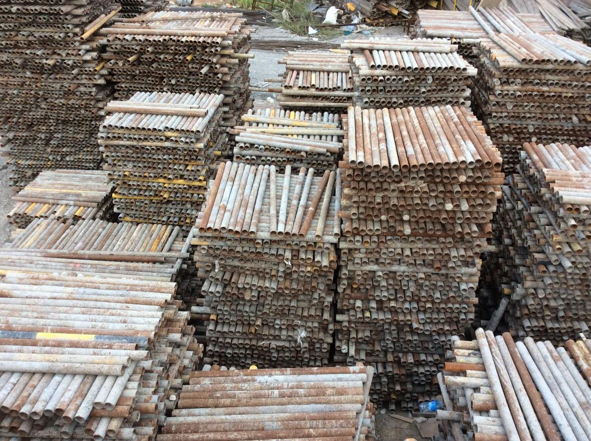 西宁出租钢管的价格,青海钢管租赁公司