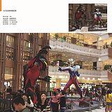湖北供应玻璃钢超人奥特曼雕塑动漫电影主题雕塑;