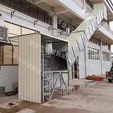 仓库出货滑梯室外物流货物滑梯自动化传输带