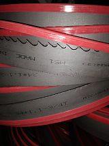 浙江带锯床机用带锯条切割各种大小钢材如:圆钢、槽钢、不锈钢等;