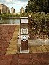 HW-07 戀途 房車水電樁 岸電樁 水電箱 水電櫃 水電柱 營地樁;