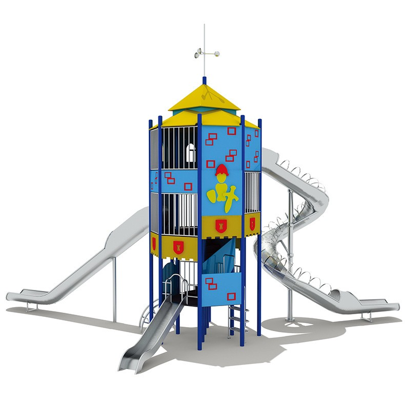 南宁室外组合滑梯 儿童游乐设施 大型玩具工程塑料