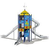 南寧室外組合滑梯 兒童游樂設施 大型玩具工程塑料