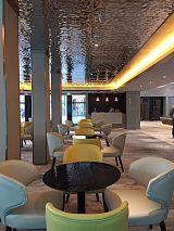 宁波酒吧温泉会所天花装饰镜面水波纹不锈钢压花板 特攻墙面装饰板