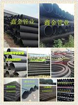 长春球墨铸铁井盖+HDPE高密度钢带螺旋管;
