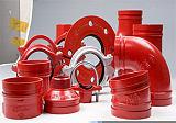 供青海溝槽管件和西寧三通管件