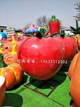 玻璃钢番茄雕塑 南昌康大雕塑
