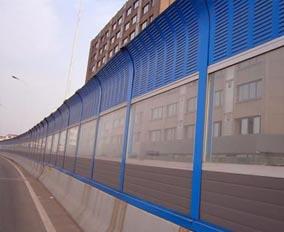 河北安平思固爾組合透明性聲屏障