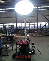 移动式工地照明车拖挂式升降照明灯的工作方法;
