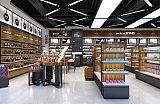 鄭州精品美妝道具,化妝品展柜;