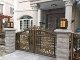 太原小店区庭院欧式大门质量美观大方;