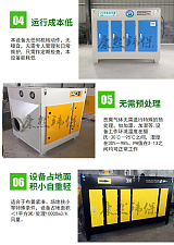 康然环保 烟气净化器 UV光氧净化器 等离子光氧一体机活性炭吸附箱;