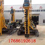 打樁機 電線杆打樁機 挖機改裝螺旋打樁機;