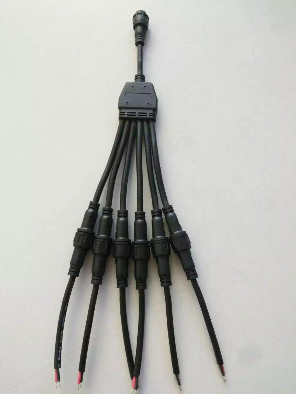 广东防水接头,机械设备专用线材插头连接器