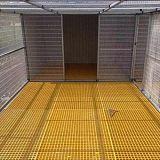 河北萬玖生產玻璃鋼材質格柵耐溝蓋板腐蝕耐高溫耐酸堿