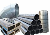 河北万玖玻璃钢风管耐腐蚀耐高温有机无机风管;