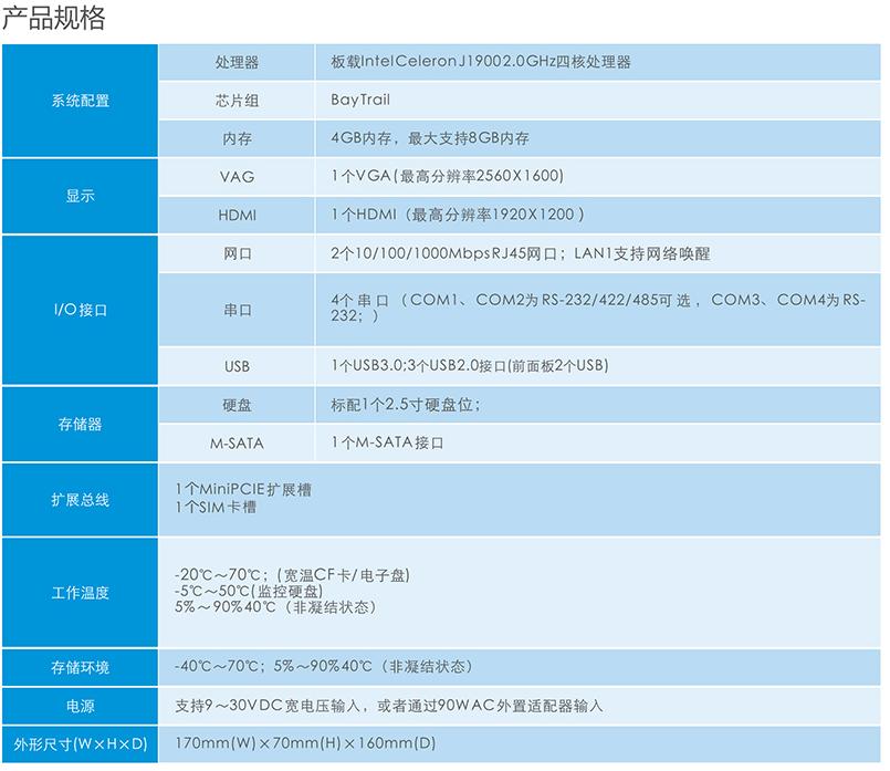 重庆工控机-MEC-5031-M 徕深科技