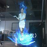 韓國進口全息投影膜/透明背投膜/高清正投膜/高對比融合膜任意裁剪;