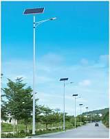 HGTYN-LD-001 6m30w农村锂电池太阳能LED路灯