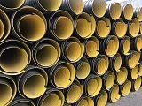 長春2019新型球墨鑄鐵井蓋+HDPE高密度聚乙烯鋼帶排水管=鑫金