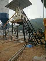 廠家*供應1000型雙臥軸混凝土攪拌機.